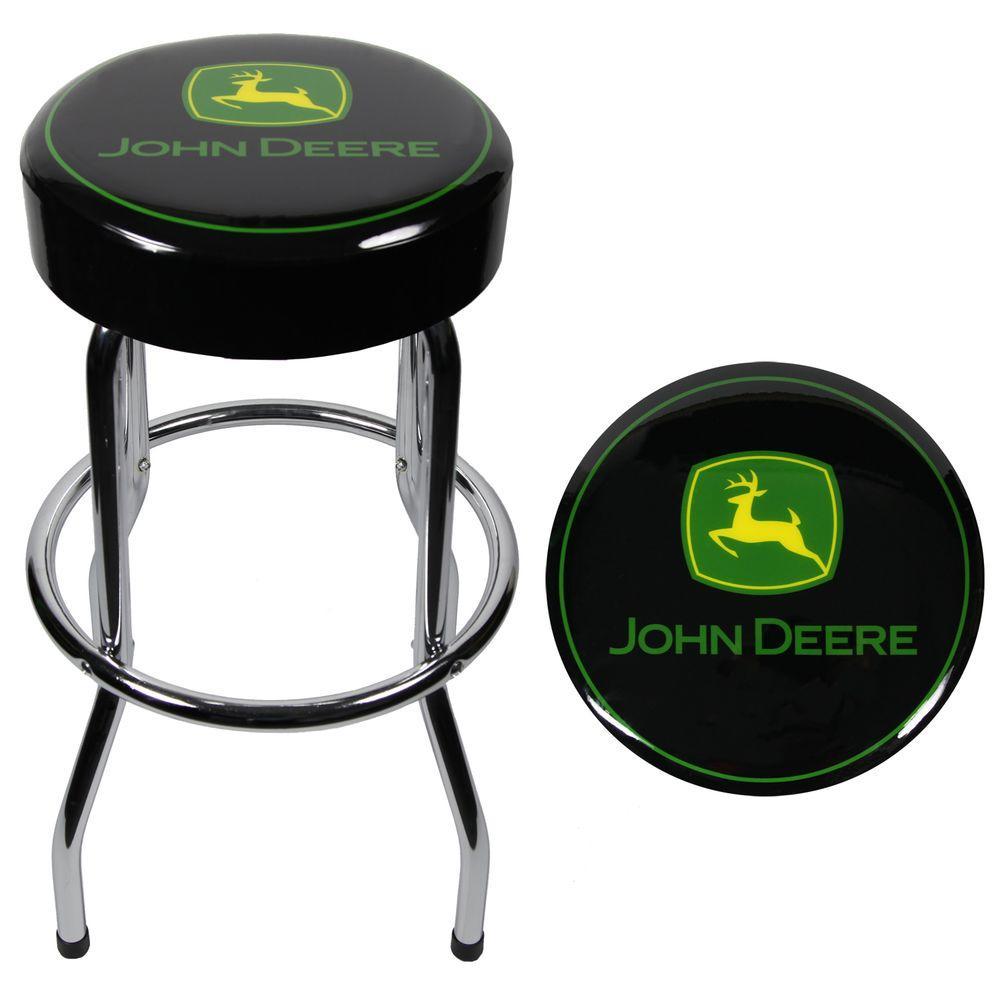 John Deere Garage Stool