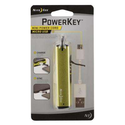 PowerKey Mini Power Cord - Micro USB
