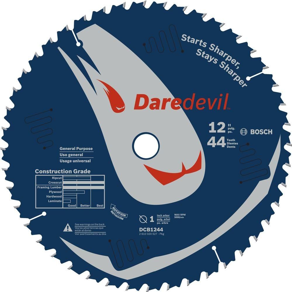 Bosch 12 in. 44 Tooth General Purpose Circular Saw Blade