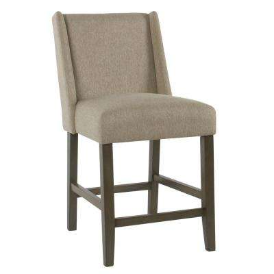 Dinah 24 in. Brown Bar Stool