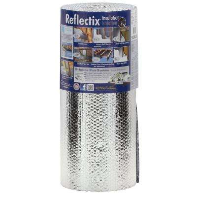 24 in. x 25 ft. Double Reflective Insulation with Staple Tab