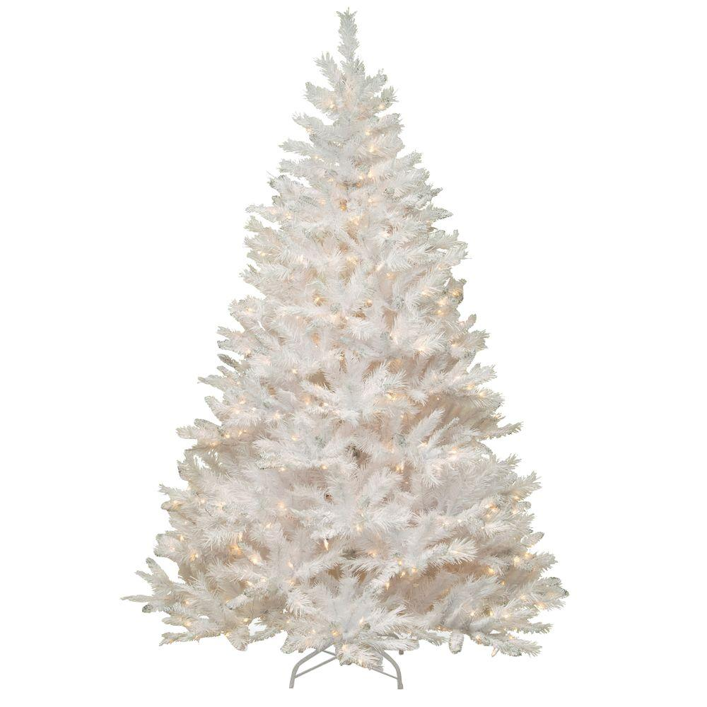 2 Ft White Christmas Tree: National Tree Company 7 Ft. Winchester White Pine