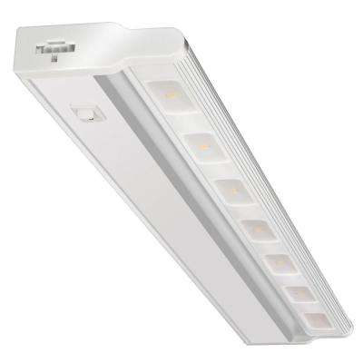 UCLD 24 in. LED White Swivel and Linkable Under Cabinet Light