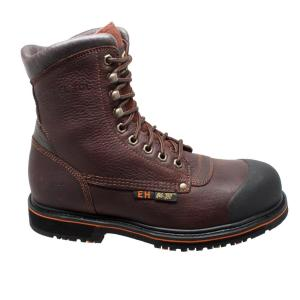 7407dddc0a2 Adtec Men's Wide 8 Black Crazy Horse Leather Steel Toe Logger Boot ...