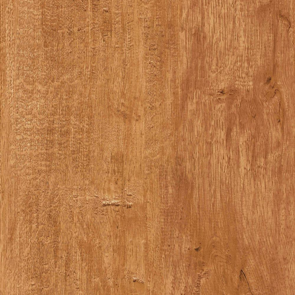 TrafficMASTER Take Home Sample - Antique Elm Resilient Vinyl Plank Flooring - 4 in. x 4 in.