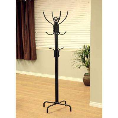 free standing coat rack Freestanding   Coat Racks   Entryway Furniture   The Home Depot free standing coat rack