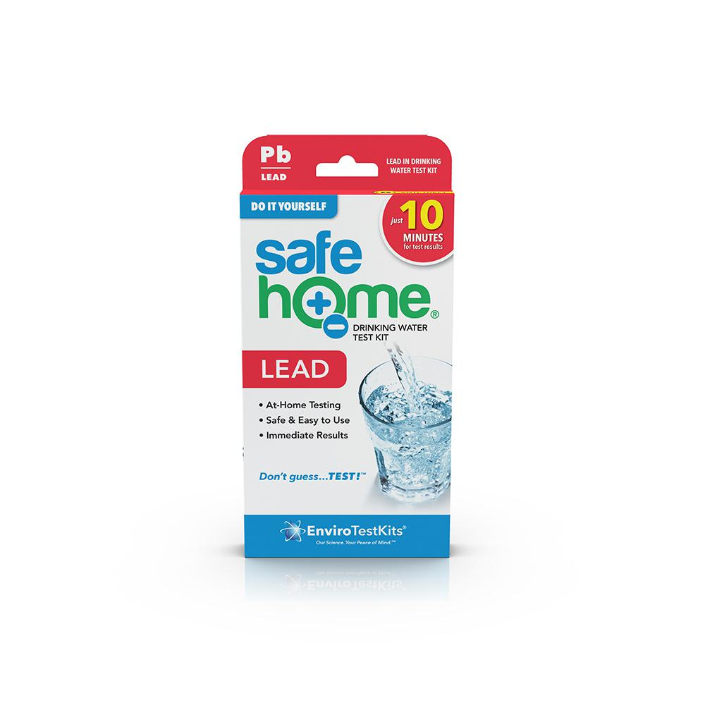 Safe Home Do-it-Yourself Lead in Water Test Kit DIY Lead in Drinking Water Test screens your water for the presence of Lead. It is quick, reliable and easy to use. Protect your family from harmful contaminants.