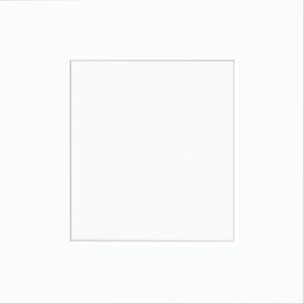 Home Decorators Collection 13x13 in. Cabinet Door Sample in Newport Pacific White