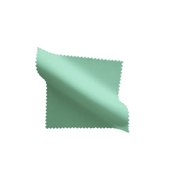 Mint 60 in. x 102 in. Polyester Poplin Rectangular Tablecloth