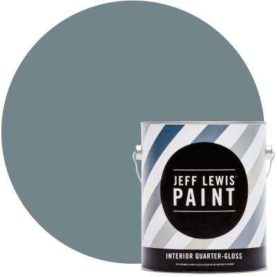 1 gal. #313 Skinnydip Quarter-Gloss Interior Paint