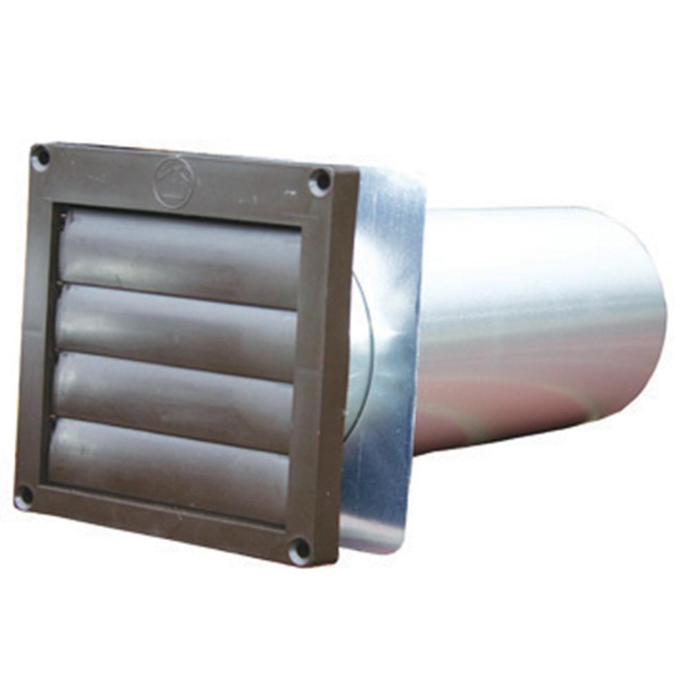 Brown XLS-Air 1-2020B Aluminium Fixed Louvered Ventilator