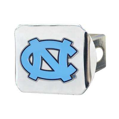 NCAA University of North Carolina - Chapel Hill Color Emblem on Chrome Hitch Cover