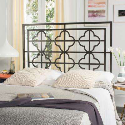 Lucina Gunmetal Queen Headboard