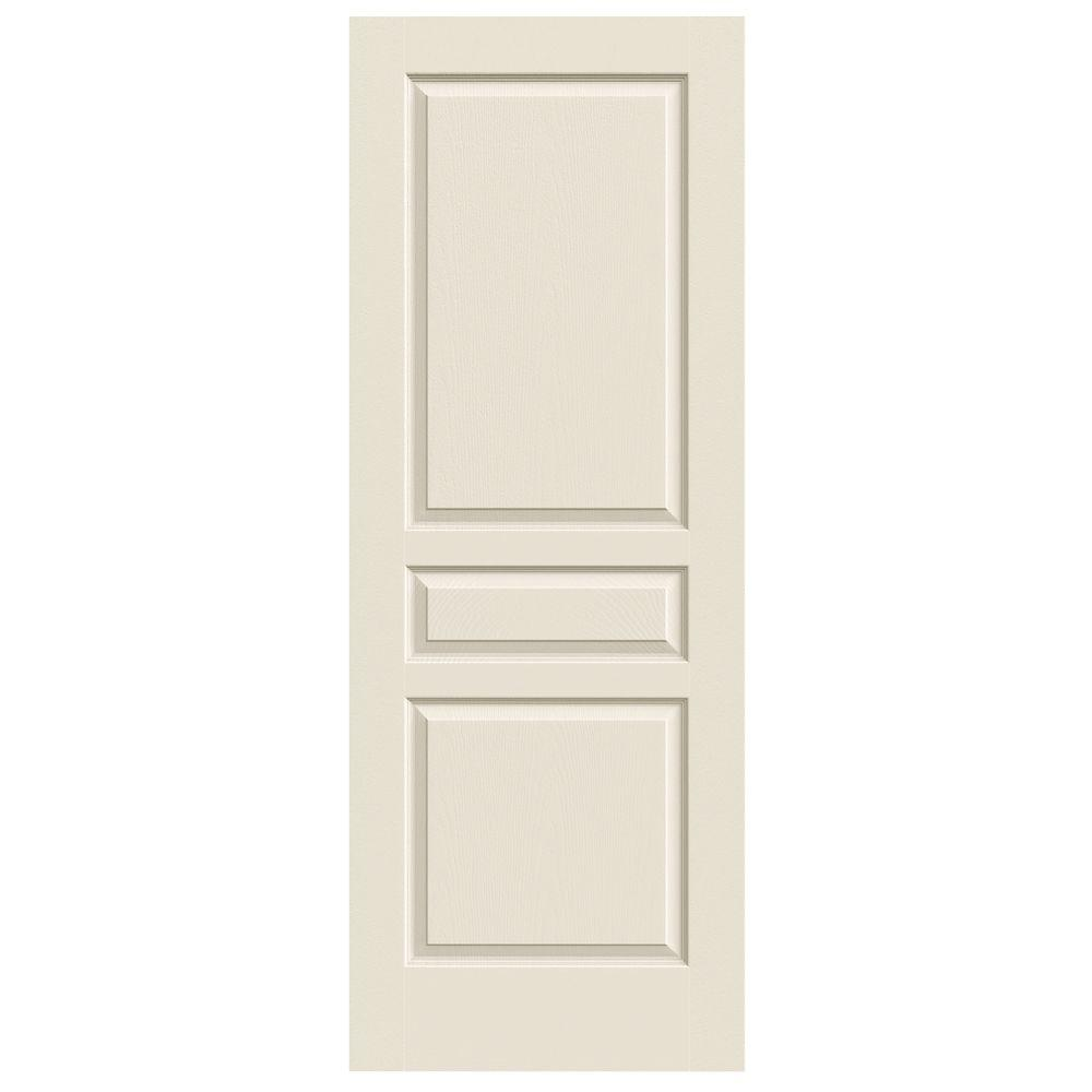 jeld wen 30 in x 80 in avalon primed textured hollow core molded composite mdf interior door. Black Bedroom Furniture Sets. Home Design Ideas