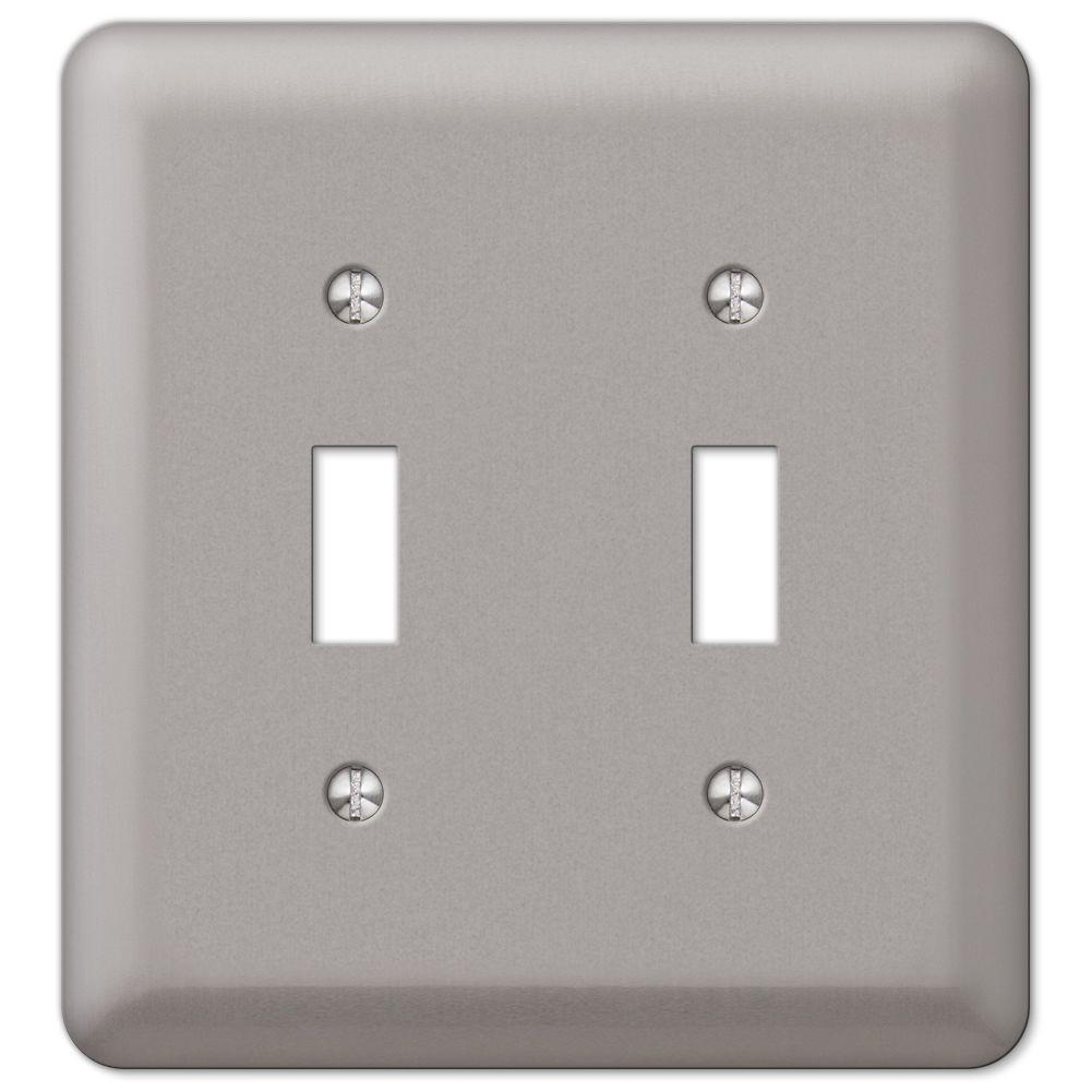 Pewter - Switch Plates - Wall Plates - The Home Depot