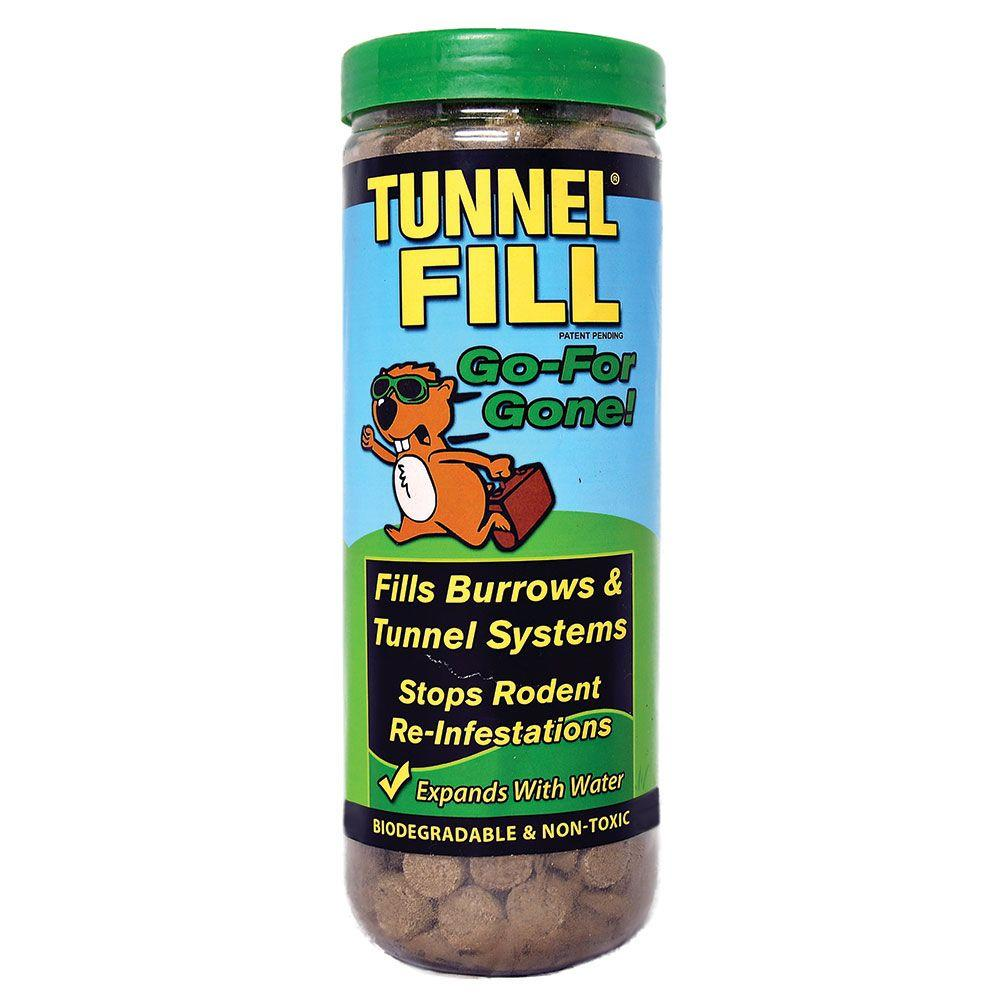 WONDER SOIL Tunnel Fill Gopher Control Tube - Fills 50 in. ft.