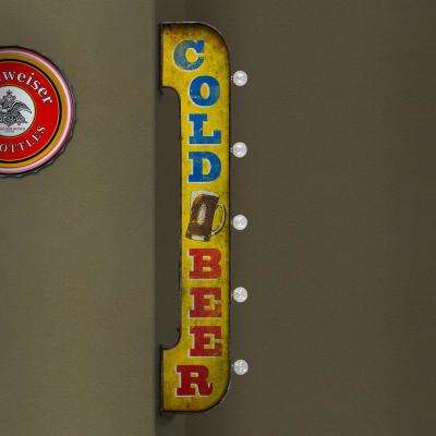 Cold Beer LED Marquee Sign