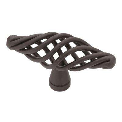 Birdcage 2-1/2 in. (64mm) Matte Black Cabinet Knob