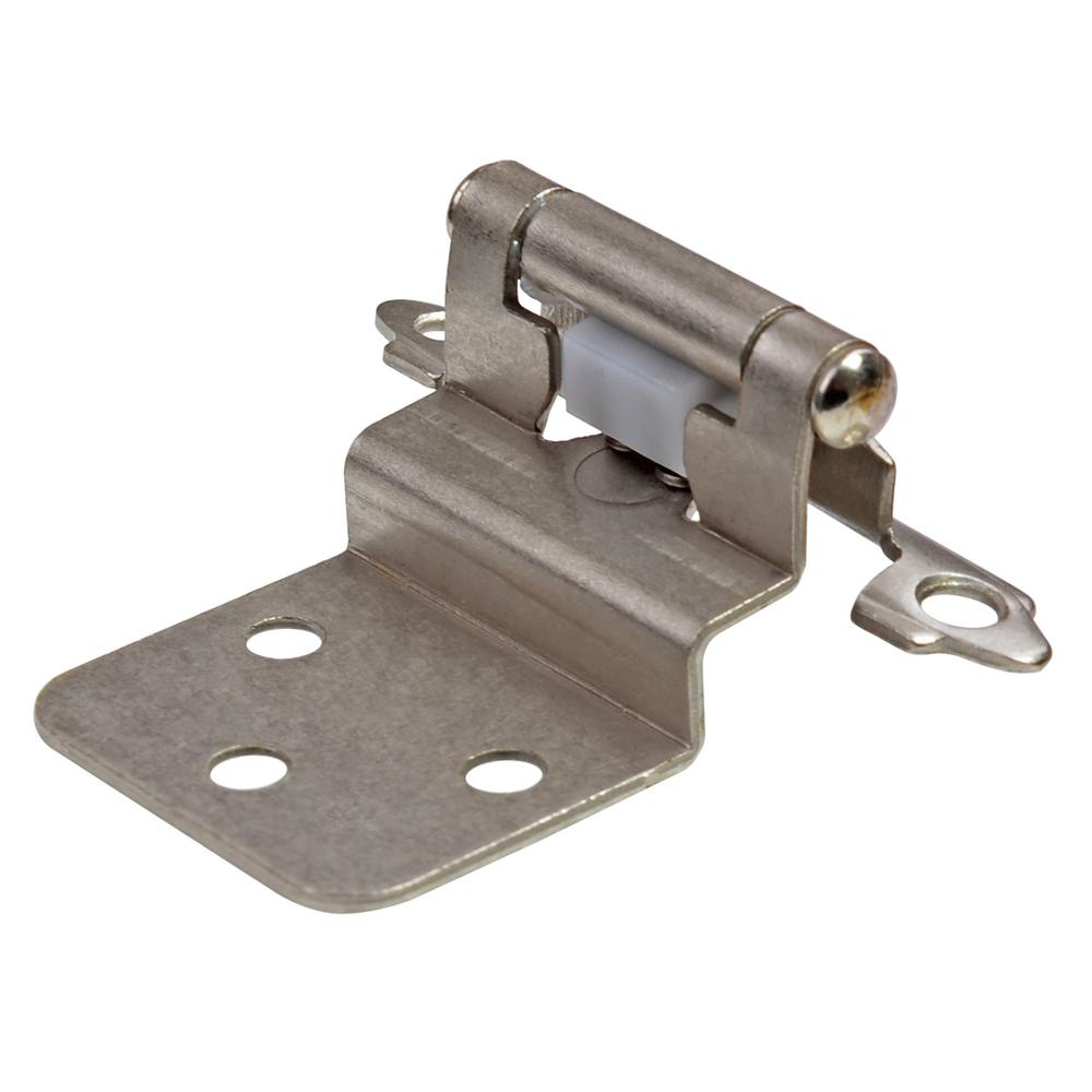 South Main Hardware Satin Nickel 3 8 In Inset Hinge 10