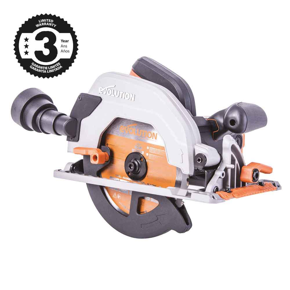 15 Amp 7-1/4 in. TCT Multi-Material Cutting Circular Saw