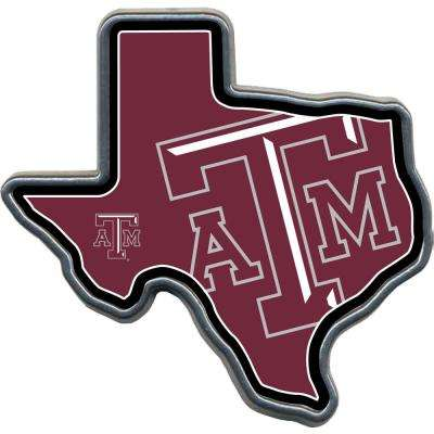 TX A&M Aggies TX Shaped Hitch Cover