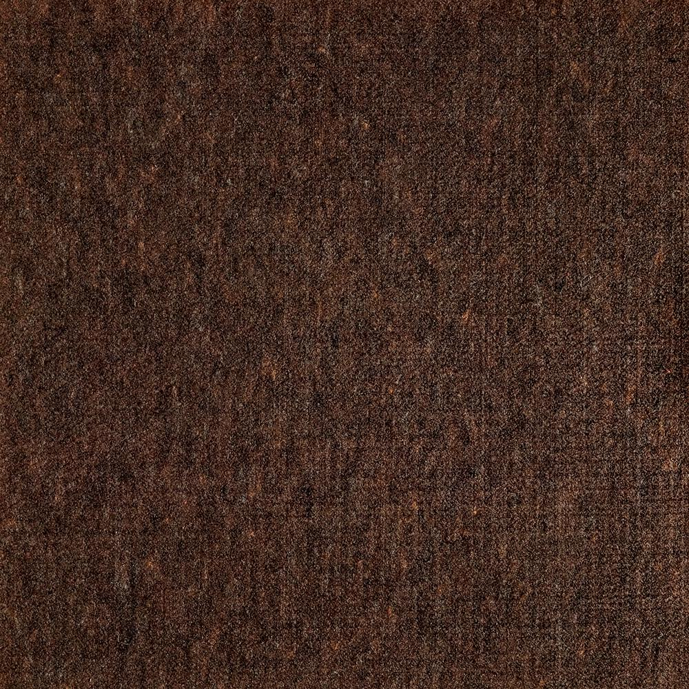 Fedora Walnut Texture 19.7 in. x 19.7 in. Carpet Tile (6