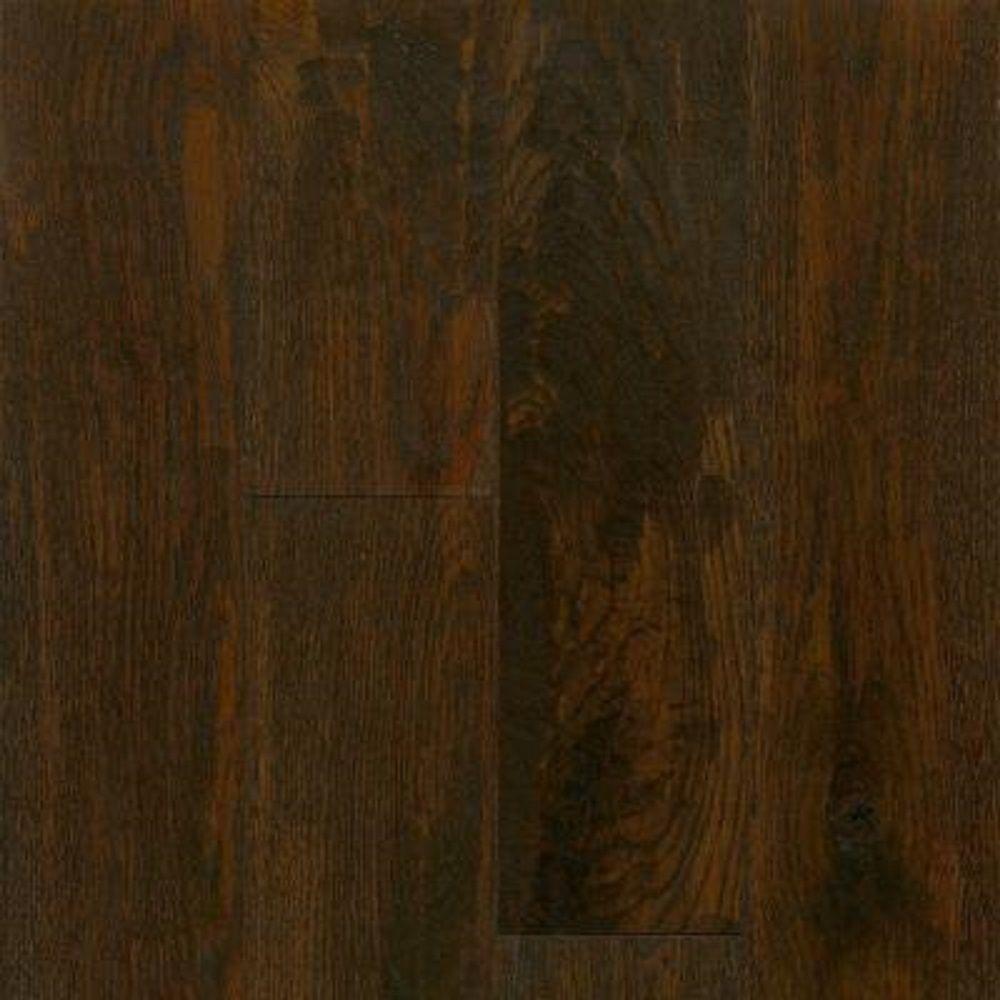 Bruce Take Home Sample - American Vintage Pioneer Oak Engineered Scraped Hardwood Flooring - 5 in. x 7 in.
