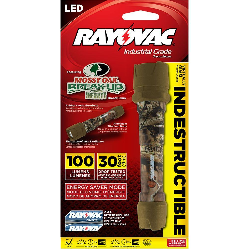 Emergency Situations Perfect for Power Outages Rayovac LED Flashlight 2 Pack 2 Pack Flash Light Set with Batteries Included Hiking Camping Dog Walking