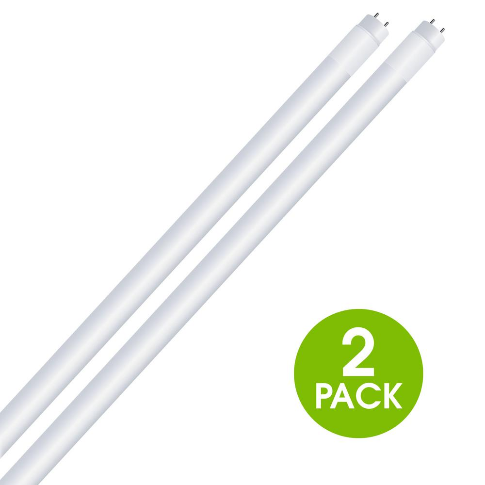 4 ft. 14-Watt T8 32W Equivalent Cool White (4100K) G13 Linear