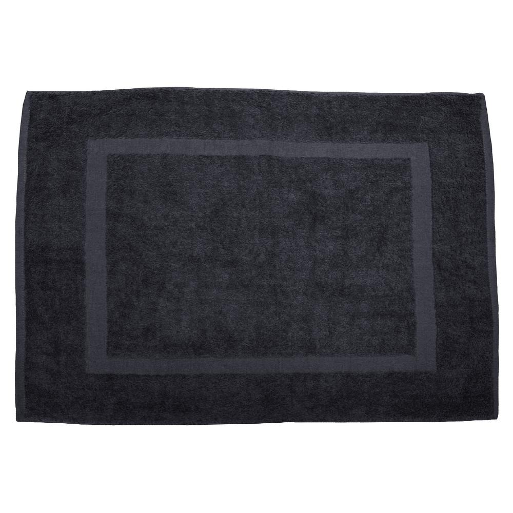 20 In X 30 In Dark Gray Provence Bath Mat 10527 The