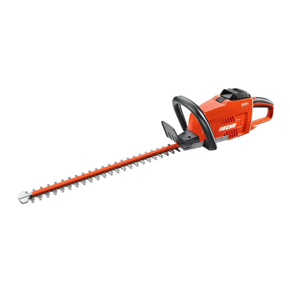 24 in. 58-Volt Lithium-Ion Brushless Cordless Hedge Trimmer - 2.0 Ah