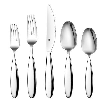 20-Piece 18/10 Stainless Steel Mirror Polish Silverware Set Service for 4