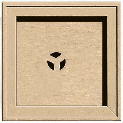 7.75 in. x 7.75 in. #045 Sandstone Maple Recessed Square Mounting Block