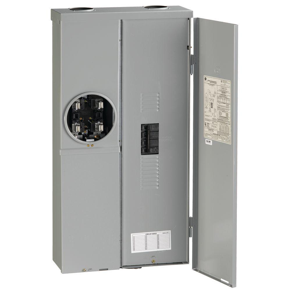 200 Amp 120/240-Volt Meter Socket Load Center