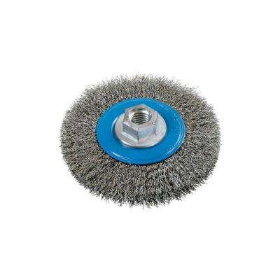 4.5 in. Crimped Wire Wheel Brushes 5/8 in. - 11 in. Arbor