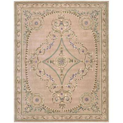 Versailles Palace Beige 8 ft. x 11 ft. Area Rug