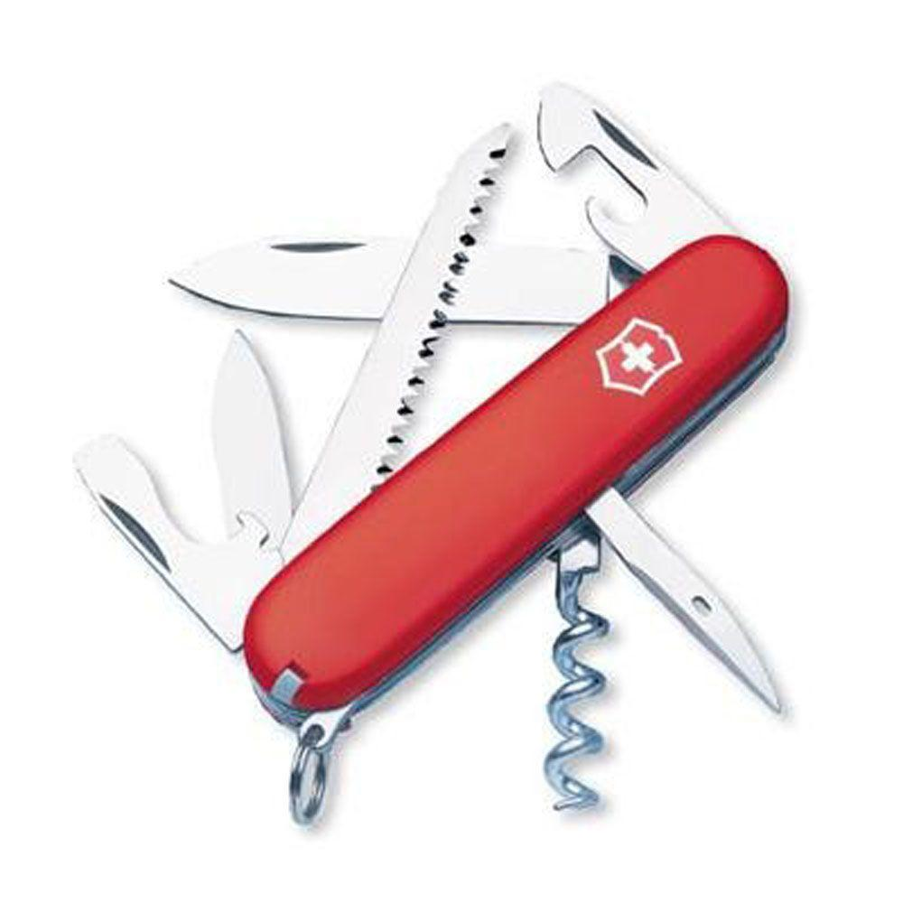 Victorinox of Switzerland Swiss Army Outdoor Camper Pocket Knife/Multi-Tool