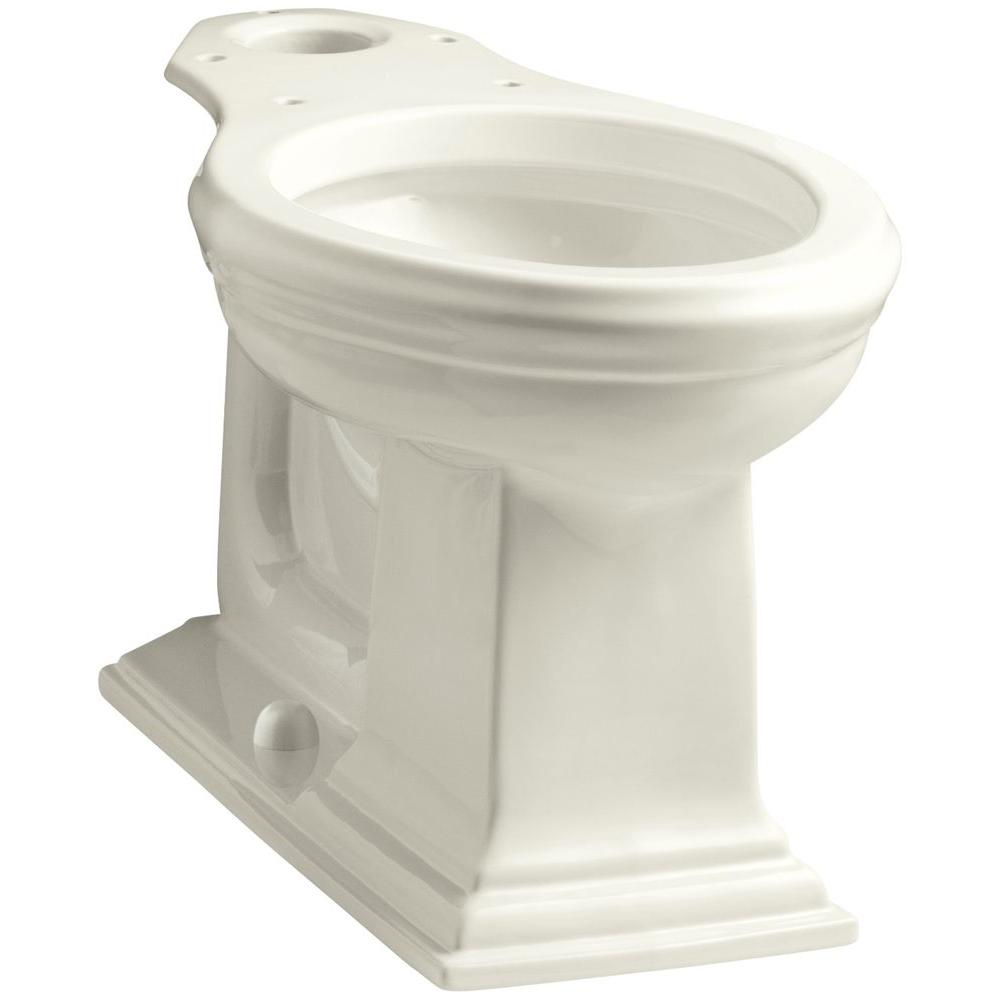 Memoirs Comfort Height Elongated Toilet Bowl Only in Biscuit