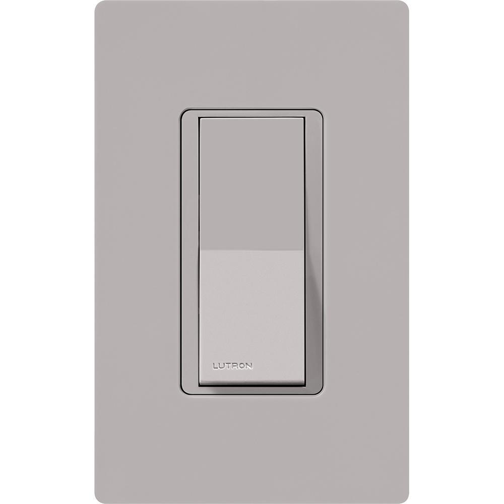 LUTRON CA-1PSH-Gray claro Switch 15A Interruptor