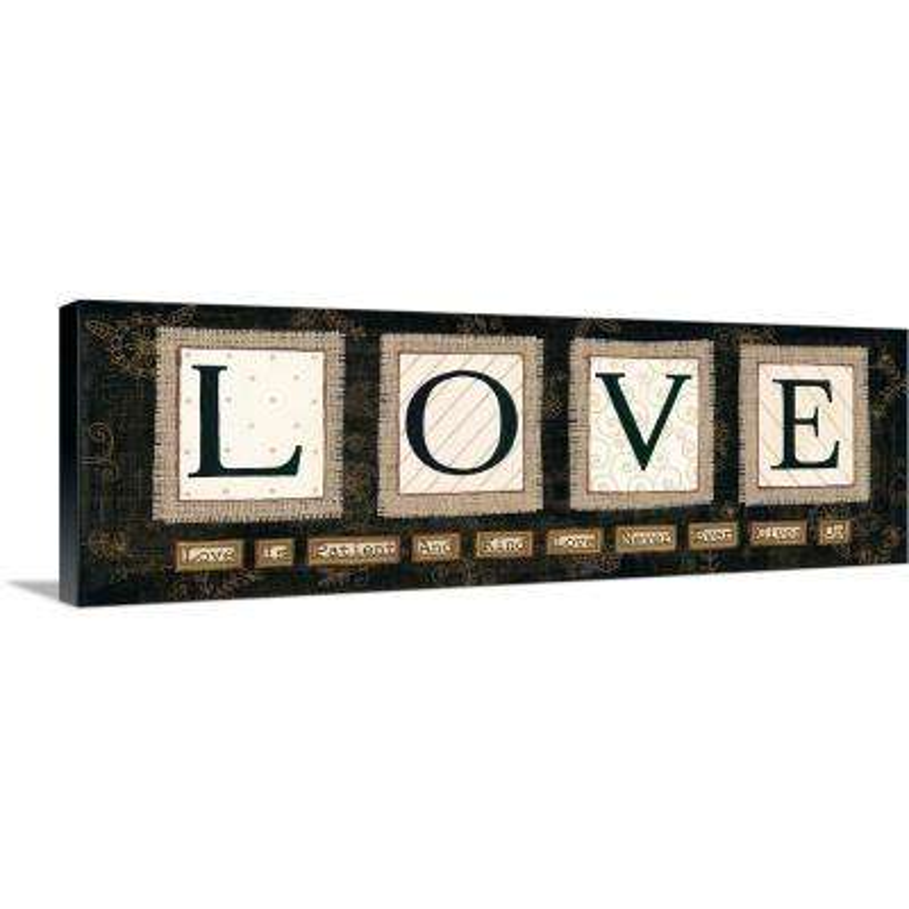 """Love"" by Annie LaPoint Canvas Wall Art"