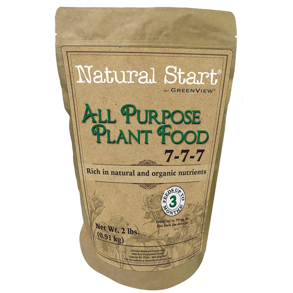 Natural Start 2 lb. All Purpose Plant Food