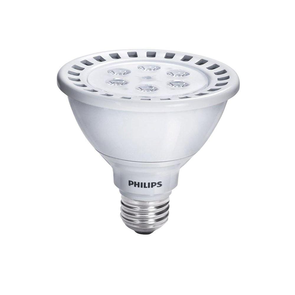 75W Equivalent Cool White (4000K) PAR30S Dimmable LED Flood Light Bulb