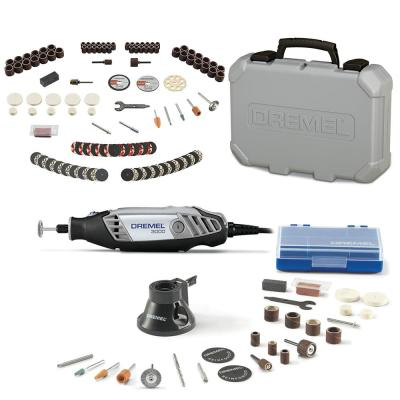 3000 Series 1.2 Amp Variable Speed Corded Rotary Tool Kit + Rotary Tool Accessory Kit (130-Piece)