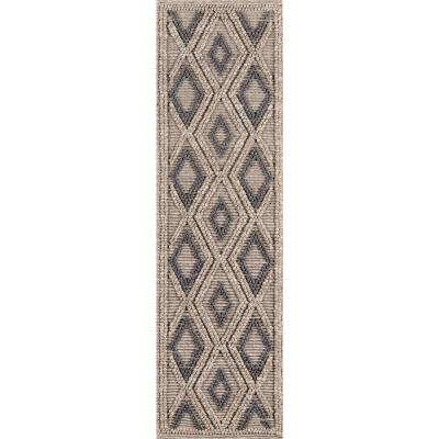 Andes Beige 2 ft. 3 in. X 8 ft. Indoor Runner Rug