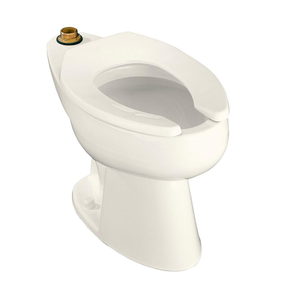 KOHLER Highcliff Elongated Toilet Bowl Only in Biscuit
