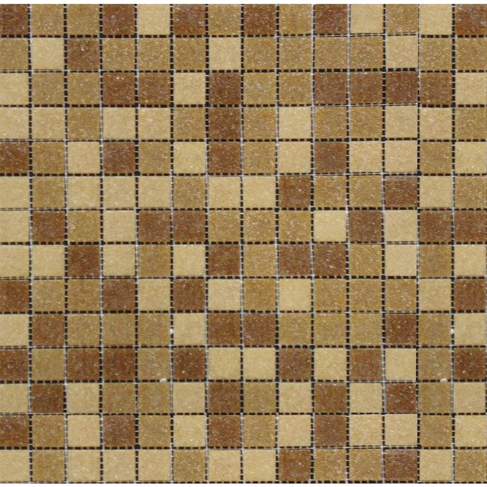 MS International Canyon Vista 12 in. x 12 in. x 4 mm Glass Mesh-Mounted Mosaic Tile