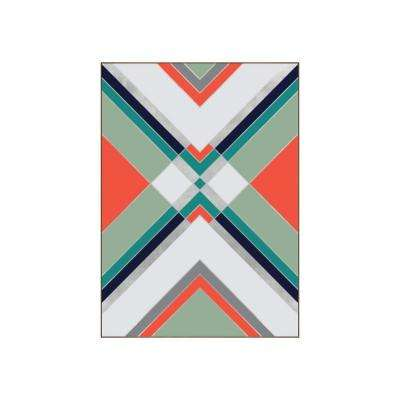 "51.25 in. x 37.25 in. ""Boho I"" by Bobby Berk Printed Framed Wall Art"