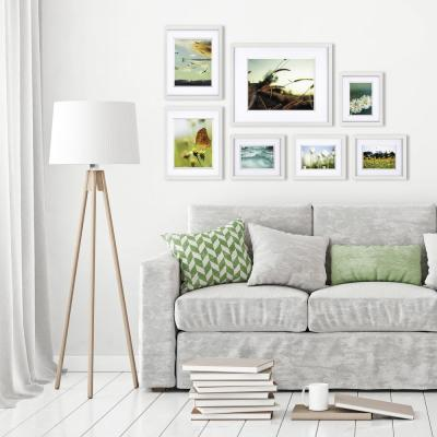 Gallery Perfect White Picture Frame (Set of 7)