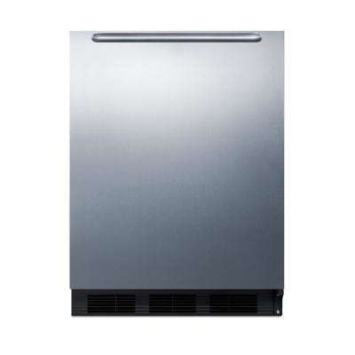 5.5 cu.ft. Mini Refrigerator in Stainless Steel, ADA Compliant Height