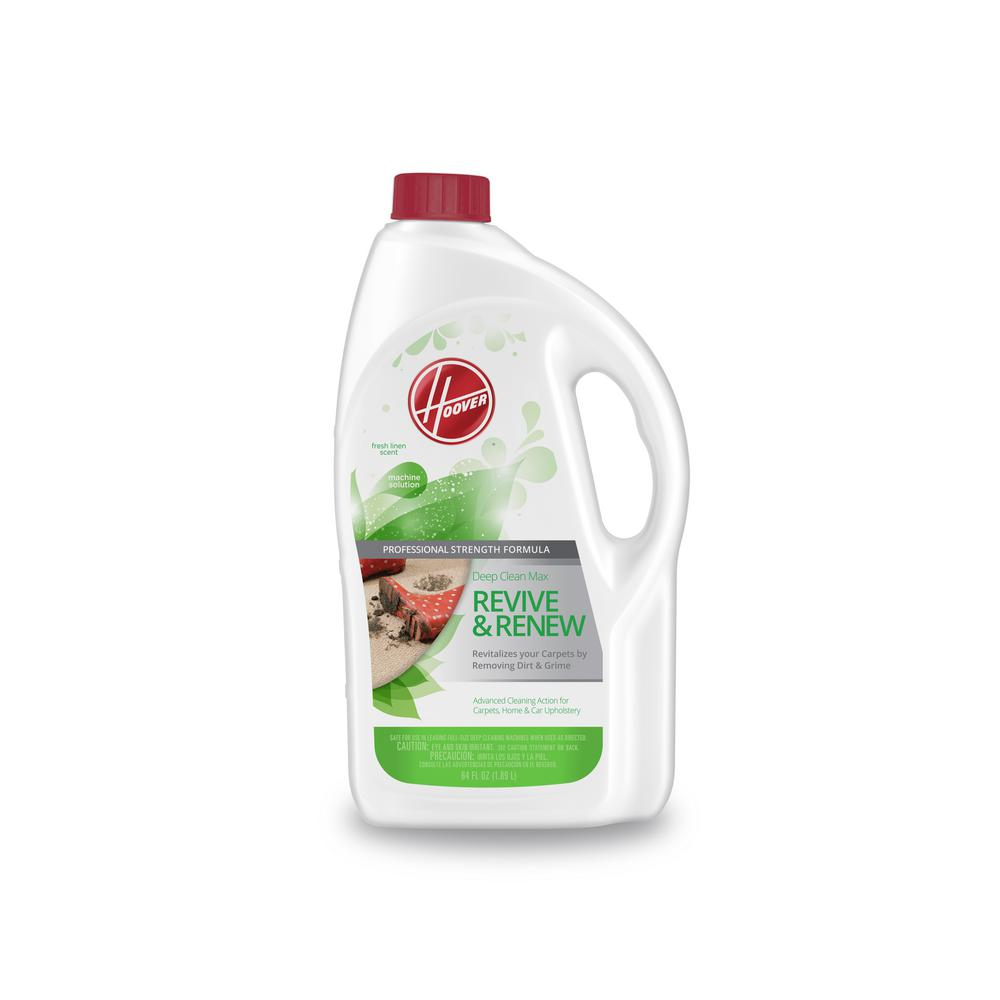Hoover 64 Oz. Deep Clean Max Revive and Renew Carpet Cleaning Solution